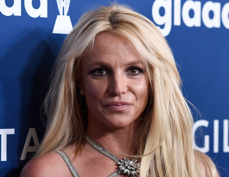 FILE – Britney Spears arrives at the 29th annual GLAAD Media Awards on April 12, 2018, in Beverly Hills, Calif. Authorities say they are investigating Spears for misdemeanor battery after a staff member at her home said the singer struck her. The Ventura County Sheriff's Office said Thursday, Aug. 19, 2021, that deputies responded to Spears home after the staff member reported the Monday night dispute. (Photo by Chris Pizzello/Invision/AP, File)