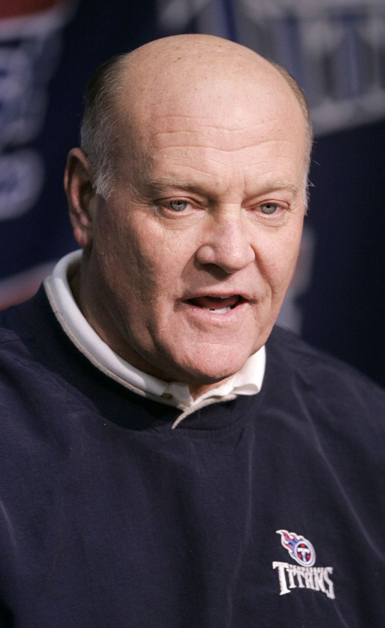 FILE – This Feb. 17, 2005 file photo shows Tennessee Titans general manager Floyd Reese in Nashville, Tenn.   Reese, the general manager of the Tennessee Titans' lone Super Bowl team, has died, on Saturday, Aug. 21, 2021.    (AP Photo/Mark Humphrey, File)