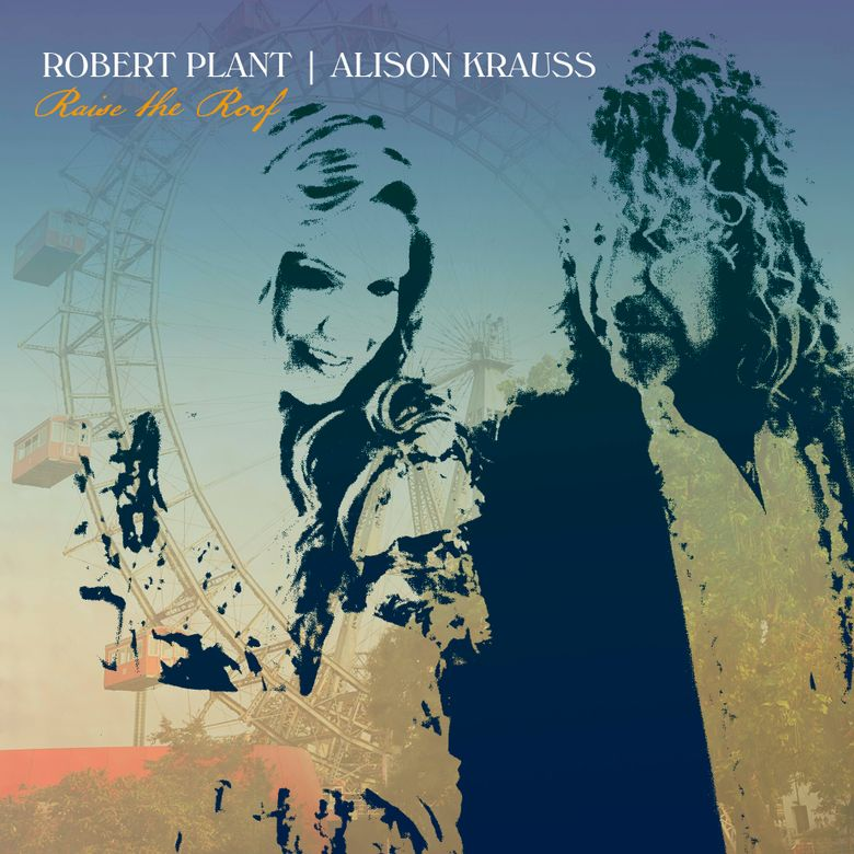 """This album cover provided by Rounder Records shows """"Raise the Roof"""" by Robert Plant and Alison Krauss.  The 12-track album will be out Nov. 19. (Rounder Records via AP)"""