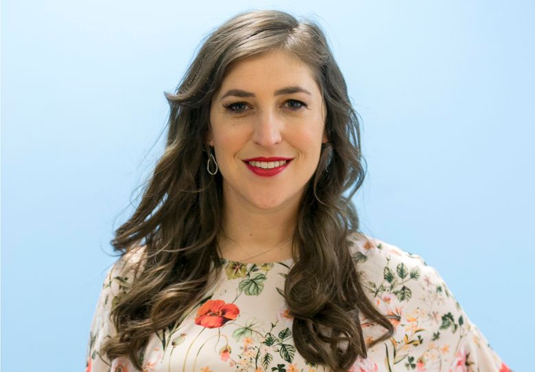 """FILE – In this May. 23, 2017 file photo, Mayim Bialik poses for a photo in Los Angeles. """"Jeopardy!"""" is back to guest hosts after the resignation of new host Mike Richards, and actor Mayim Bialik will return as the first. Sony Pictures Television announced Monday that Bialik will take the podium for three weeks of episodes. (AP Photo/Damian Dovarganes)"""