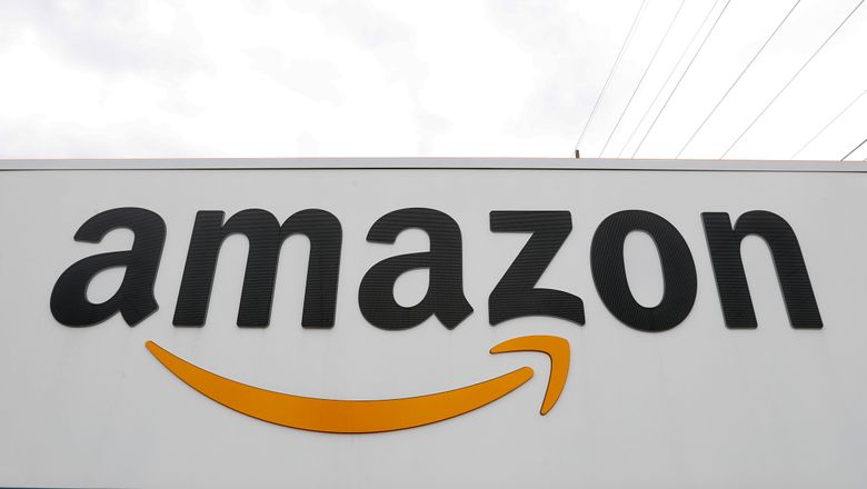 """FILE – The Amazon DTW1 fulfillment center is shown in Romulus, Mich., on April 1, 2020. An Amazon series inspired by J.R.R. Tolkien's """"Lord of the Rings"""" and """"The Hobbit"""" novels will premiere in September 2022. The date was announced Monday as filming in New Zealand concluded for the as-yet untitled series, which Amazon said will relate the """"fabled"""" Second Age of Middle-earth's history. (AP Photo/Paul Sancya, File)"""