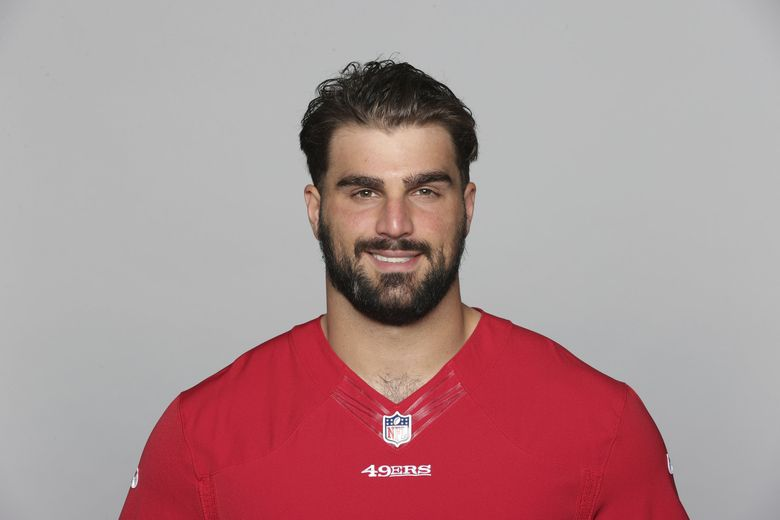 Dakoda Shepley of the San Francisco 49ers in a team photo of the 49ers active roster as of, May 20, 2021 when this image was taken. (AP Photo)