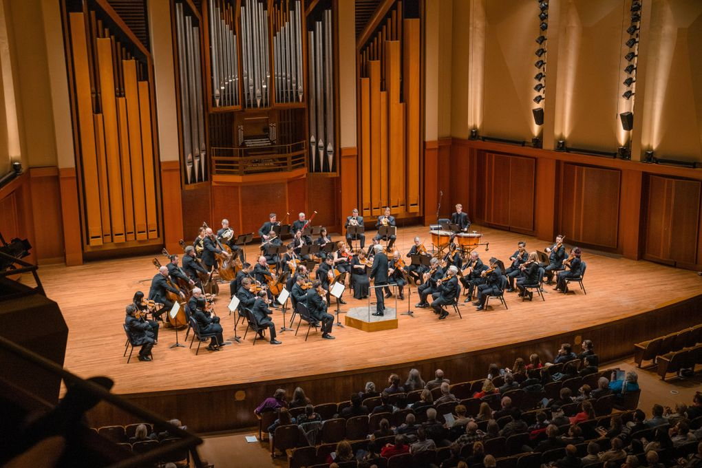 Seattle Symphony's new season begins with opening weekend festivities Sept. 18-19. (Brandon Patoc)