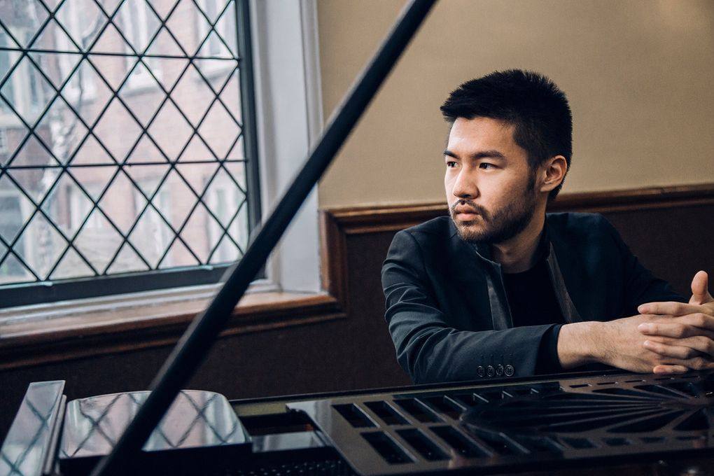 Pianist Conrad Tao opens the University of Washington's Meany Center for the Performing Arts' Piano Series on Oct. 13.  (Brantley Gutierrez)
