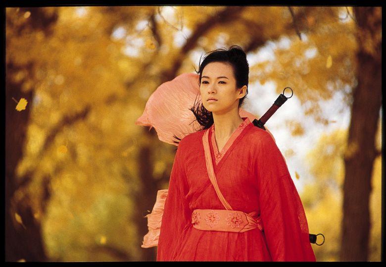 """Zhang Ziyi in Zhang Yimou's """"Hero."""" (Miramax Films)"""