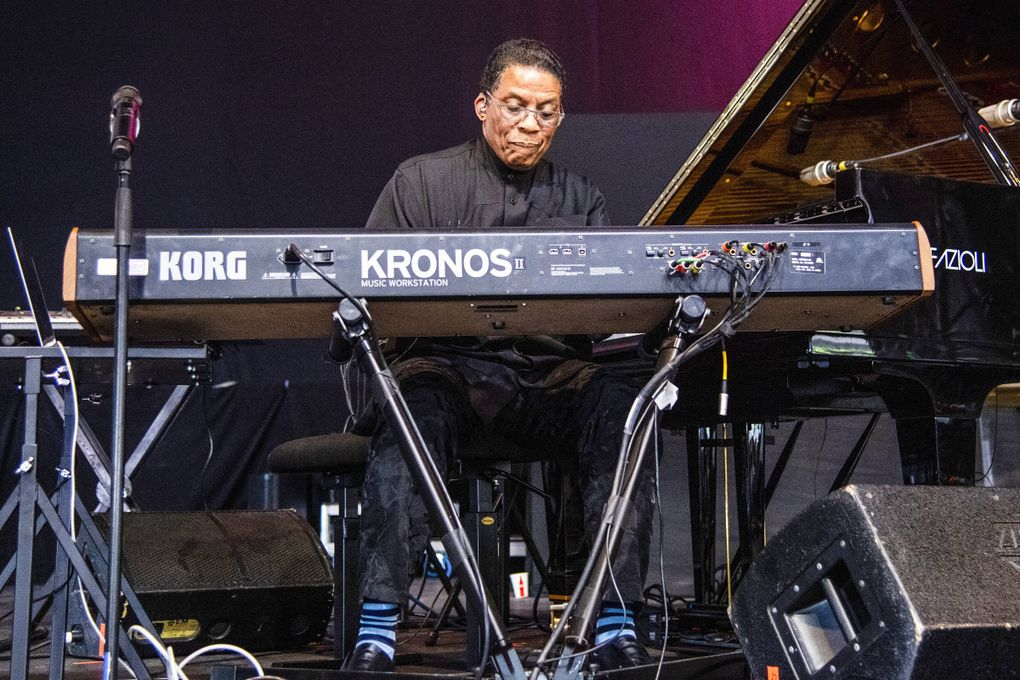 Herbie Hancock is slated to play the Paramount Theatre Sept. 21. (Amy Harris / Invision / The Associated Press)