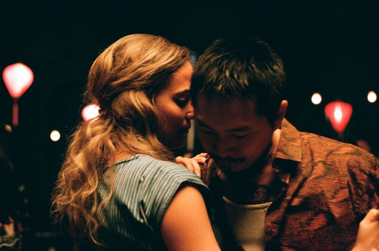"""Alicia Vikander and Justin Chon in """"Blue Bayou."""" (Courtesy of Focus Features)"""