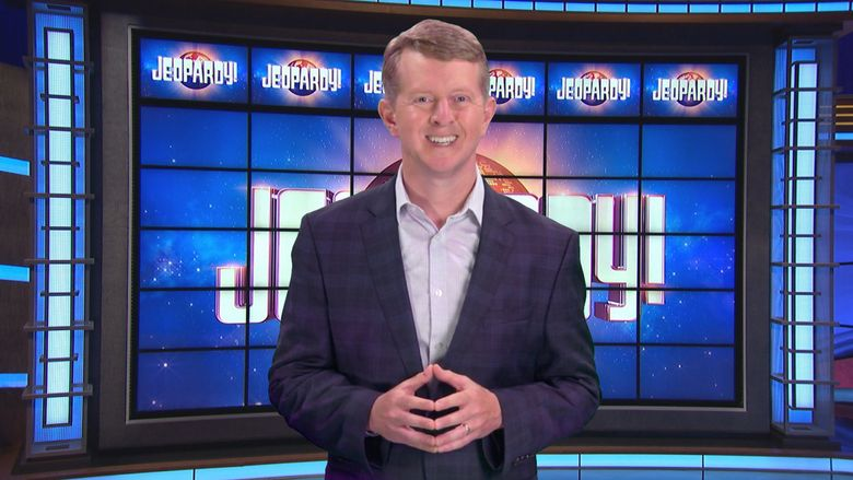 """Seattle's Ken Jennings has been named host of """"Jeopardy!"""" along with Mayim Bialik through the end of 2021. (Courtesy of Jeopardy Productions)"""