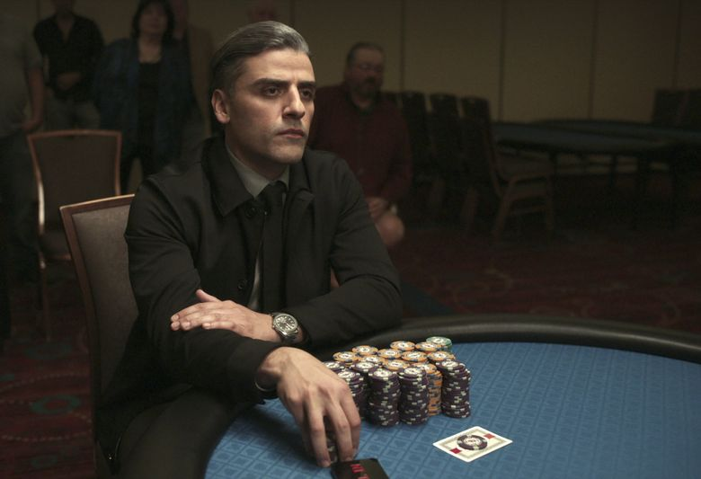 """Oscar Isaac stars as a professional gambler with a dark past in """"The Card Counter."""" (Courtesy of Focus Features)"""