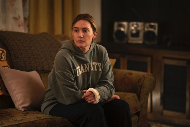 """Kate Winslet plays a Pennsylvania detective in """"Mare of Easttown"""" on HBO. (Michele K. Short / HBO / TNS)"""