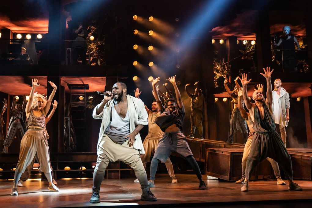"""Erica A. Lewis and the company of the North American Tour of """"Jesus Christ Superstar."""" The show is scheduled for a run at Seattlle's Paramount Theatre Oct. 5-10. (Matthew Murphy)"""