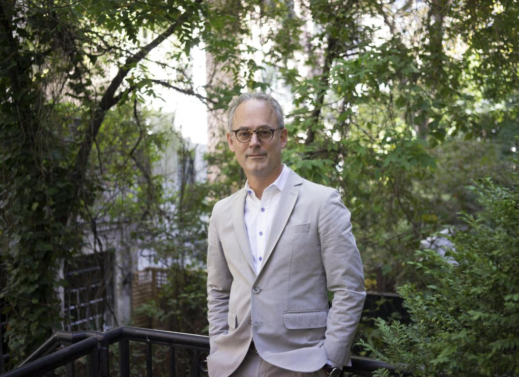 """Amor Towles, author of """"A Gentleman in Moscow"""" and the upcoming """"The Lincoln Highway,"""" participates Oct. 7 in a virtual chat with John Grisham in an Elliott Bay Book Co. event. (Bill Hayes)"""