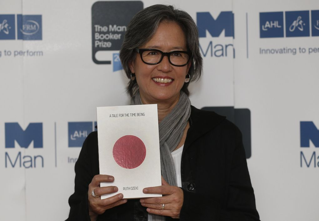 """Ruth Ozeki, author of the Booker Prize finalist 2013 novel """"A Tale for the Time Being,"""" speaks about her new novel, """"The Book of Form and Emptiness,"""" on Sept. 22 in an online event through Elliott Bay Book Co. (Sang Tan / The Associated Press)"""