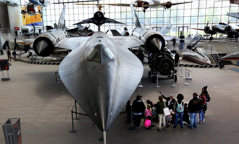 There are several ways to get into the Museum of Flight for free, including through a library museum pass or through the museum's Connections program. The program, for kids ages 5-18, offers free entry for one kid plus one adult. (Alan Berner / The Seattle Times)