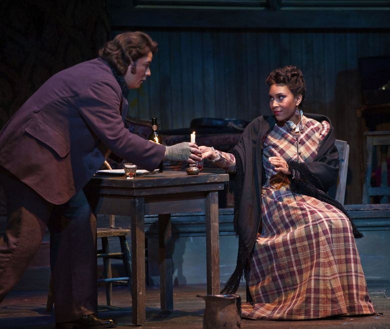 """Talise Trevigne will perform as Mimì in Seattle Opera's production of """"La Bohème"""" Oct. 16-30 at McCaw Hall. (Courtesy of Opera Omaha)"""