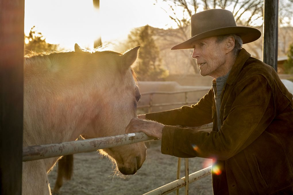 """Clint Eastwood in """"Cry Macho."""" (Claire Folger / Warner Bros. Pictures)"""
