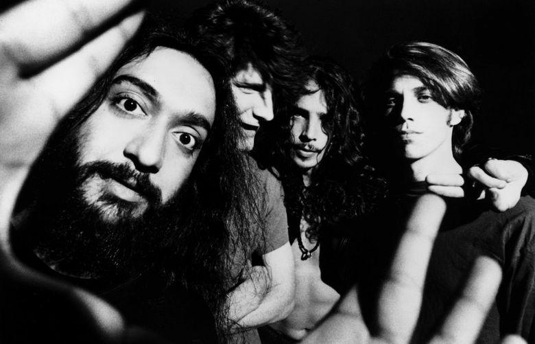 Soundgarden: Kim Thayil, Ben Shepard, Chris Cornell, Matt Cameron