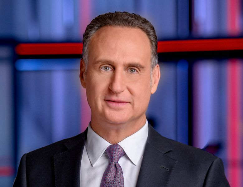 This undated image released by MSNBC shows news anchor Jose Diaz-Balart who will return to MSNBC later this month to host a weekday show at the 10 a.m. hour. (MSNBC via AP)