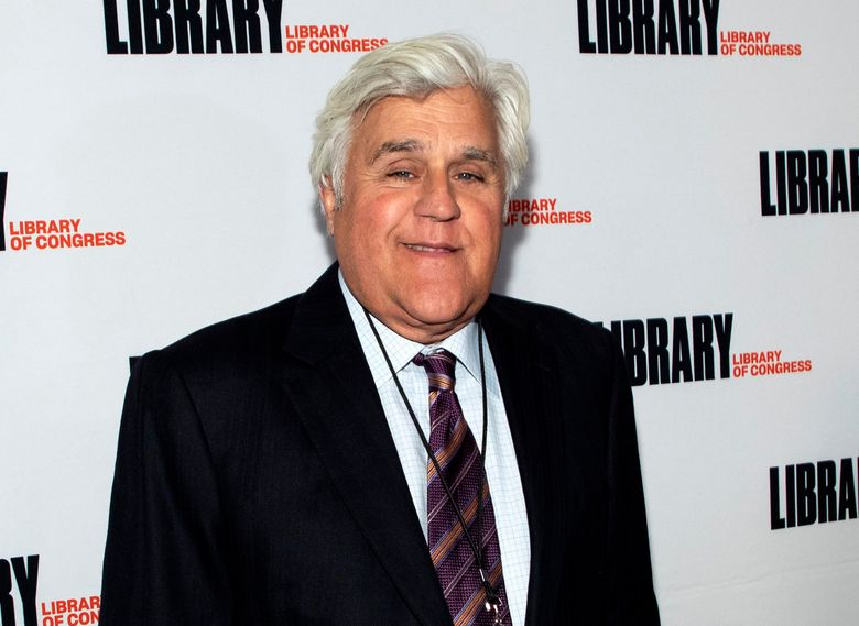 """FILE – Jay Leno attends the Gershwin Prize Honoree's Tribute Concert in Washington on March 4, 2020. Leno is host of """"You Bet Your Life,"""" a reboot of the Groucho Marx game show that debuts Monday on Fox TV stations. (Photo by Brent N. Clarke/Invision/AP, File)"""