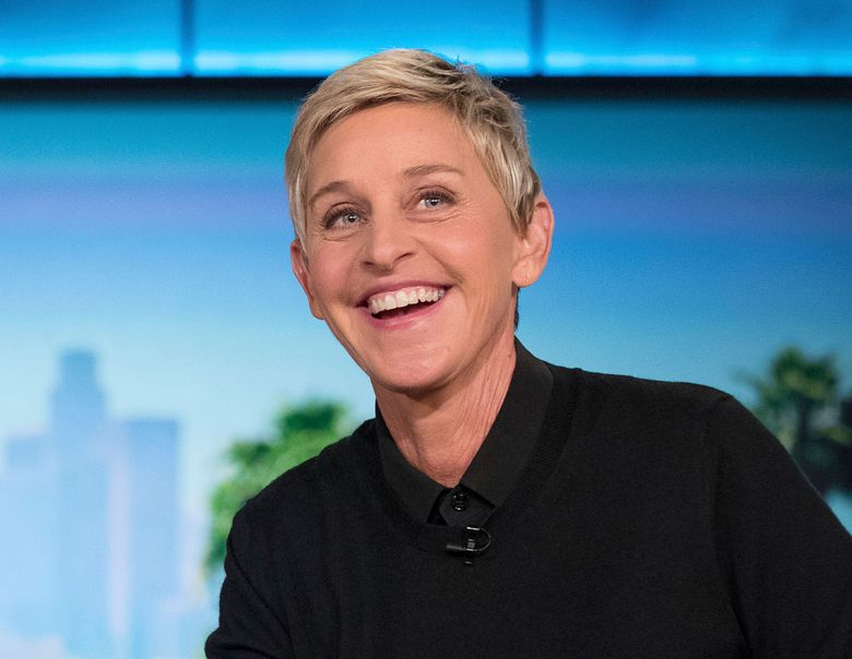 """FILE – Host Ellen Degeneres appears at a taping of """"The Ellen DeGeneres Show"""" in Burbank on Oct. 13, 2016. DeGeneres says the 19th and final season of her daytime talk show will be a thank you to fans. (AP Photo/Andrew Harnik, FIle)"""