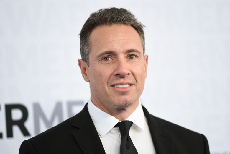 FILE – This May 15, 2019 file photo shows CNN news anchor Chris Cuomo at the WarnerMedia Upfront in New York. Shelley Ross, a veteran TV news executive, said in an opinion piece in the New York Times that CNN anchor Chris Cuomo sexually harassed her by squeezing her buttocks at a party in 2005. (Photo by Evan Agostini/Invision/AP, File)
