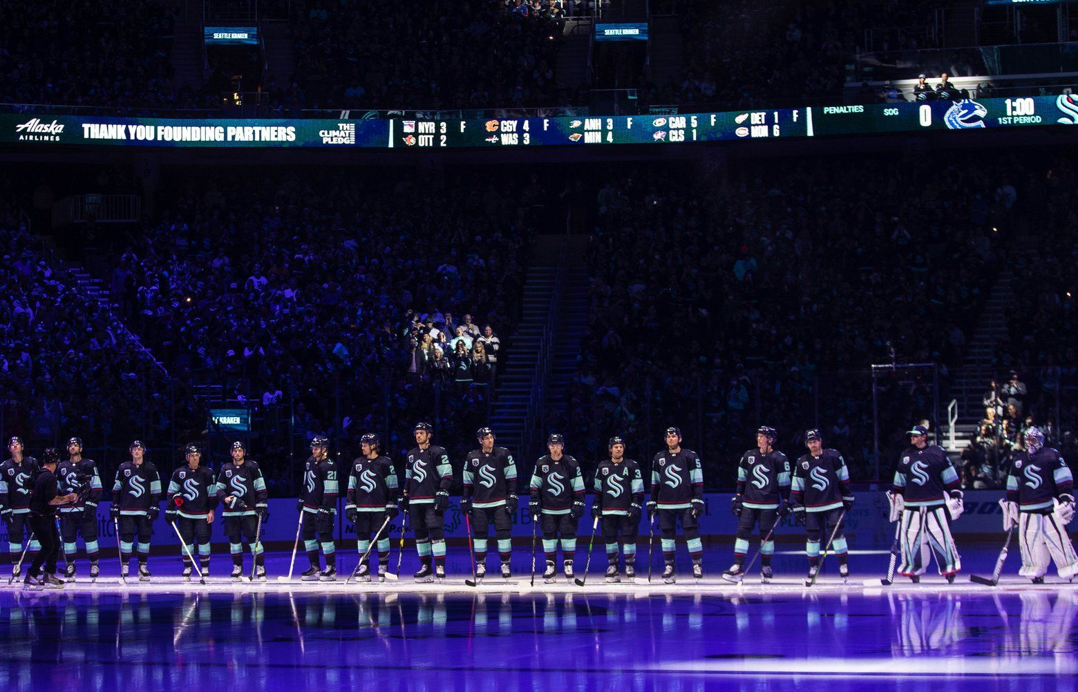 seattletimes.com - Geoff Baker - NHL's new national TV deal didn't do Kraken fans at home any favors in team's Seattle debut