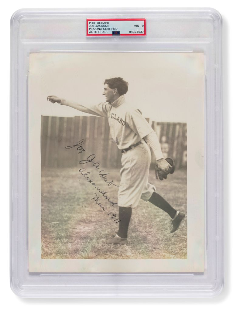 """Who would pay $1.47 million for a photo of <br/>""""Shoeless"""" Joe Jackson while he's obviously wearing shoes? (The Associated Press)"""